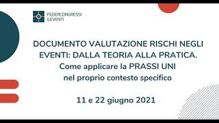 Primo appuntamento - 11 giugno 2021 - DVRE