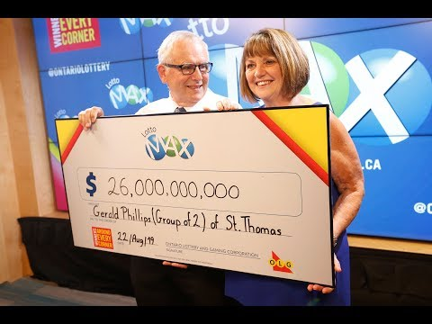 $26M Lotto Max winners plan to pay it forward in son's memory