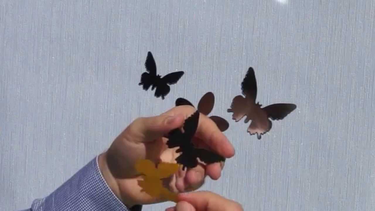 Бретельки декоративные Бабочки - A24Mag.ru - YouTube