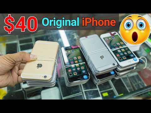 😱Original iPhone Just Only $40 - Chinese Wholesale Market Tour