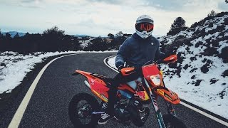 2017 KTM EXC 300 Supermoto | Pure 2 stroke sound