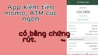 |Kiếm Tiền Online 2020| App làm nhiệm vụ kiếm tiền momo, ATM cực ngon - Đã rút