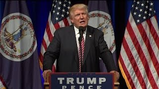 Trump Tells Mother, Crying Baby To Leave Rally