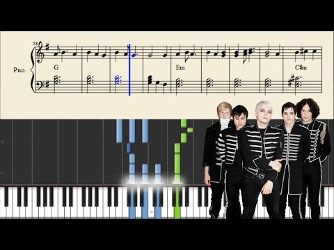 My Chemical Romance - The End. - Piano Tutorial + Sheets