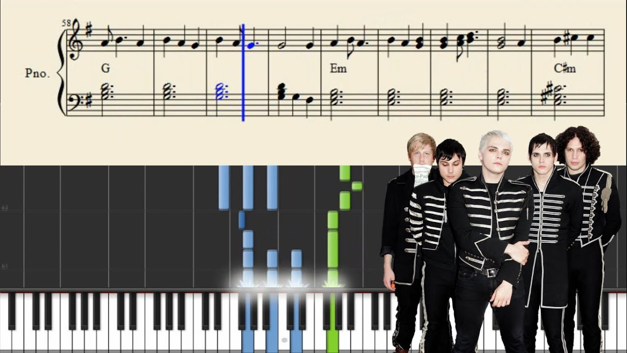 My chemical romance the end piano tutorial sheets youtube my chemical romance the end piano tutorial sheets hexwebz Choice Image