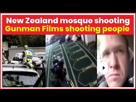 New Zealand mosque shooting LIVE: Several feared dead as gunman opens fire in central Christchurch