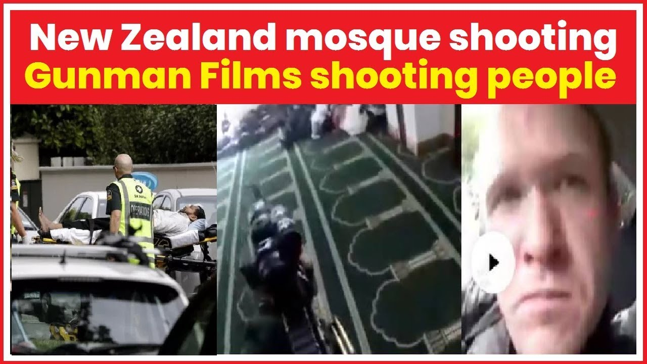 New Zealand Mosque Shooting Live Several Feared Dead As Gunman Opens Fire In Central Christchurch Youtube