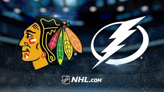 Point buries OT winner to lift Lightning past Hawks