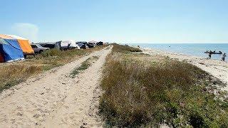 видео Отдых на Черном море в Железном порту. Украина.