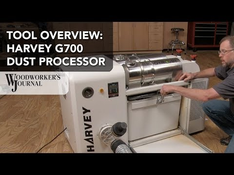 Tool Overview | Harvey G700 Dust Processor