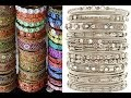 Street Fashion- Designer Traditional Bangles  Charminar Hyderabad- Top Shopping Places In India