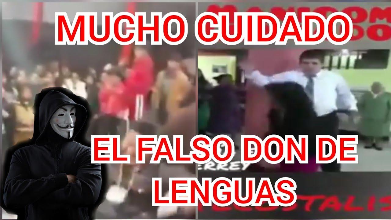 FALSO DON DE LENGUAS