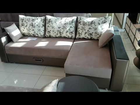 угловой диван росси 7 раскладной Booby мир видео
