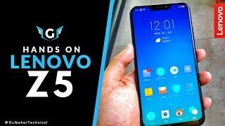 Lenovo Z5 Hands on - 6GB Price Rs.15000/-