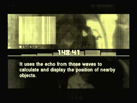 Metal Gear Solid 3 - Sigint - Active Sonar