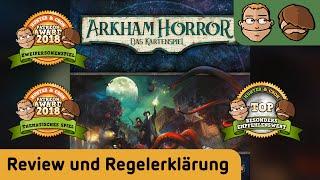 Arkham Horror: Das Kartenspiel LCG - Brettspiel - Review