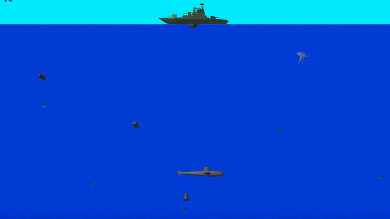 Submarines v2 1 (Windows game 2000)