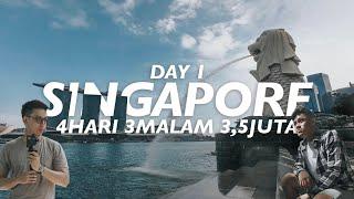 LIBURAN PUAS SINGAPORE CUMA 3,5JT (TERMASUK USS, PSWT, HOTEL, MAKAN) - DAY 1