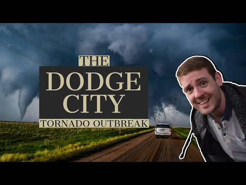 Tornado Frenzy in Dodge City, May 24th 2016