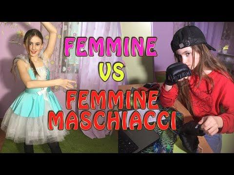 FEMMINE vs FEMMINE MASCHIACCI- by Charlotte M. / LUCKY vs UNLUCKY