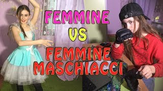 FEMMINE vs FEMMINE MASCHIACCI- by Charlotte M. / LUCKY vs UNLUCKY