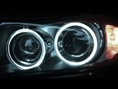 BMW E90 Angel Eyes LED Upgrade (LUX V6)