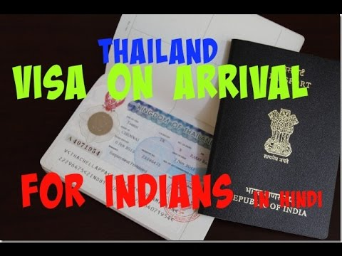 Thailand Visa On Arrival Guide For Indians [In Hindi]