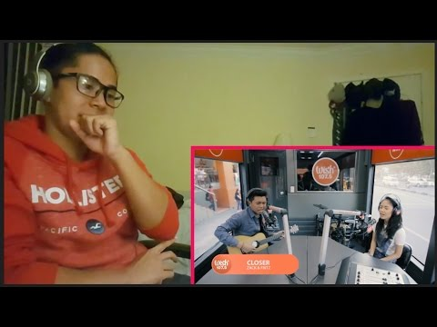 """Zack and Fritz cover """"Closer"""" (The Chainsmokers) LIVE on Wish 107.5 Bus"""