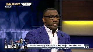 "UNDISPUTED | Antonio Brown preparing to play vs NYJ: ""I'm just focused on ball"""