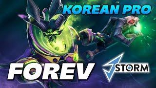Forev Pugna Offlane   Korean pro   Dota 2 Pro Gameplay