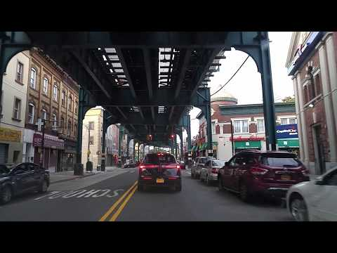 Driving from Ozone Park to Kew Gardens in Queens,New York