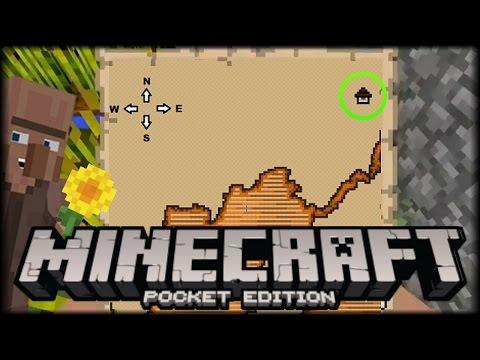 Mapa Del Tesoro Minecraft.Minecraft Pe 1 1 Build 3 Como Conseguir Y Usar El Mapa Del