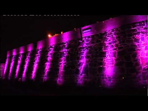 LED technology now drapes the Castle of Goodhope in a rainbow of colour