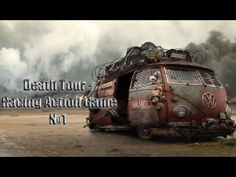 моё первое видео по Death Tour - Racing Action Game