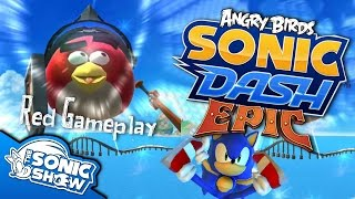 Angry Birds Sonic Dash: Epic - Red Gameplay