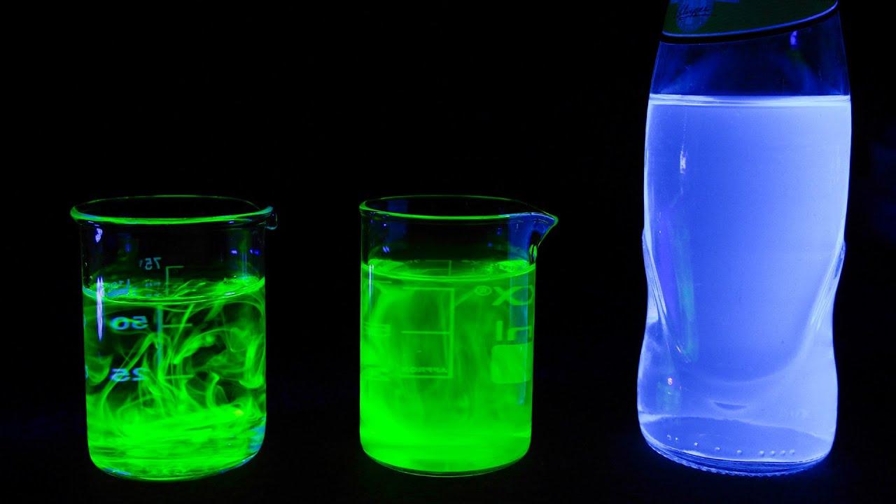 Fluorescencia. EXPERIMENTOS. - YouTube