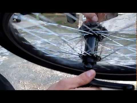 TUTORIAL - Como hacer una rueda con pedales de piñon libre ( ...