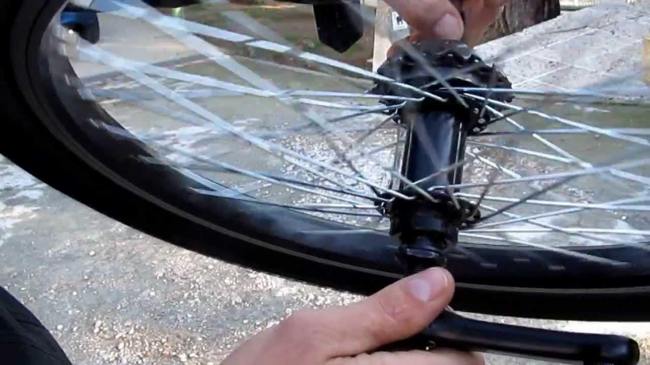 Tutorial como hacer una rueda con pedales de pi on libre - Como poner una mosquitera ...