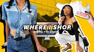 🛍 BEST STORES TO SHOP ONLINE + IN STORE