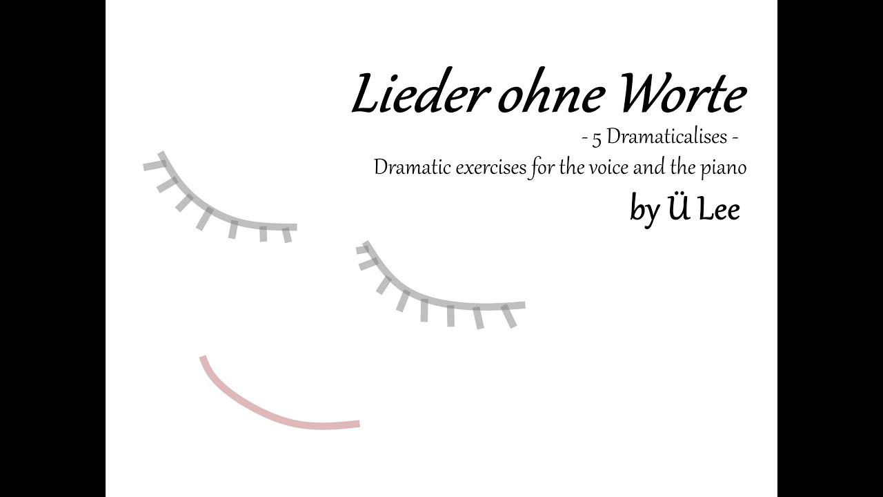 """La petite mort"" from ""Lieder ohne Worte"" by Ü Lee"