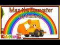 Excavator Max compilation. Car cartoons & kids' games.