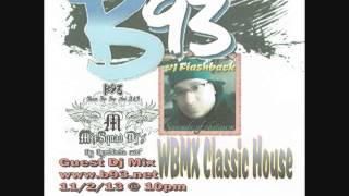 WBMX Guest mix B93 Odessa,Tx 11/2/13 - Dj flashback chicago