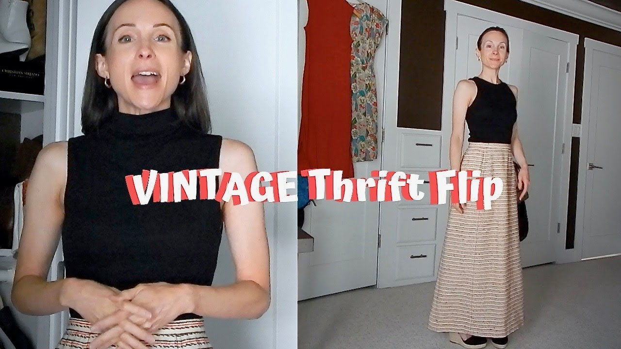 [VIDEO] - THRIFT FLIP | Making VINTAGE CLOTHES look MODERN! | Episode 1 3