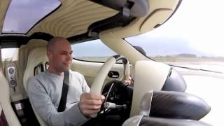 Koenigsegg Agera R vs BMW M6 test swedish