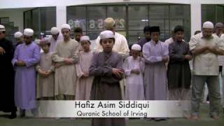 Qiyamul Layl by the youngest Hafiz Asim Siddiqui