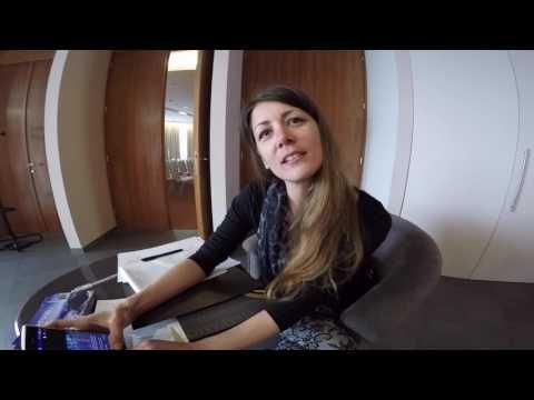 Marina says that pyramids are alive, Rijeka, Croatia, March 26, 2017