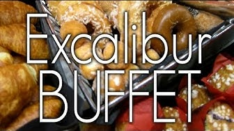 Excalibur Las Vegas Buffet Tour