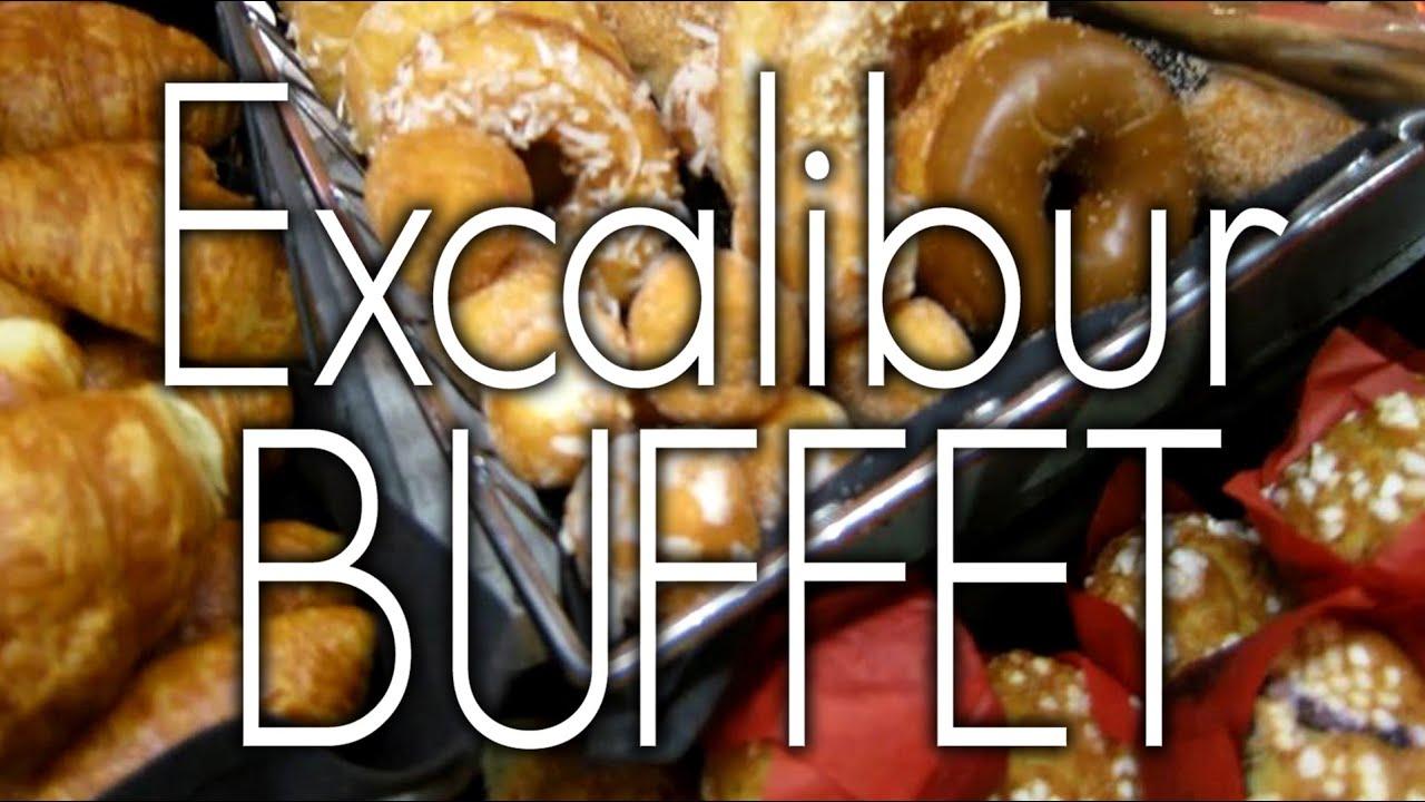 excalibur las vegas buffet tour youtube rh youtube com excalibur buffet dinner price excalibur breakfast buffet price
