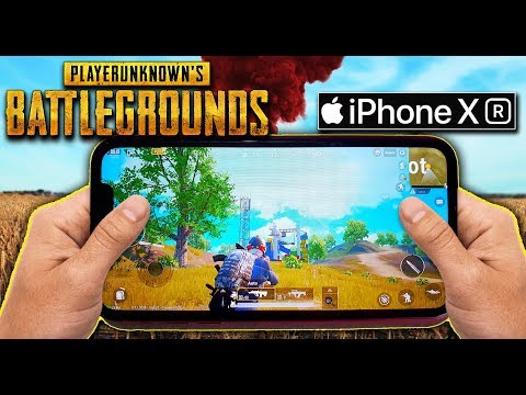 PUBG Mobile on iPhone XR Red Color Gaming Test (High-Graphics)