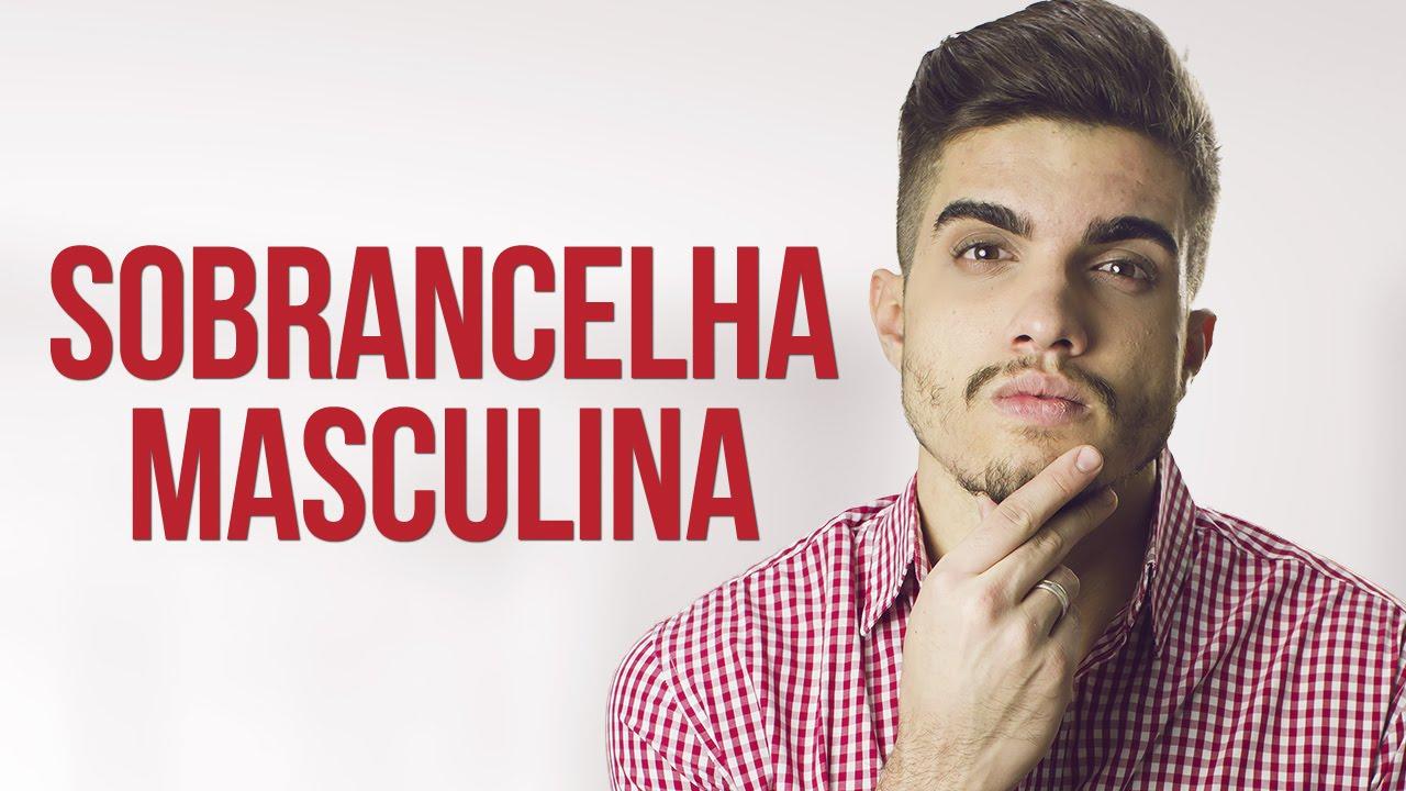 Favoritos SOBRANCELHA MASCULINA COMO FAZER - YouTube HR23